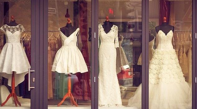 Svatební šaty podle typu postav