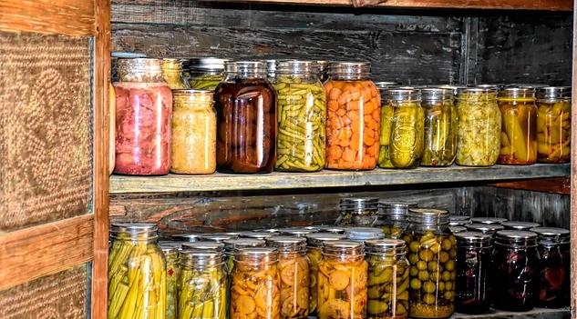 Profesionálové radí, jak skladovat potraviny