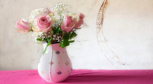 růže váza